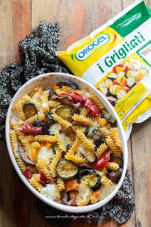 pasta vegetariana al forno