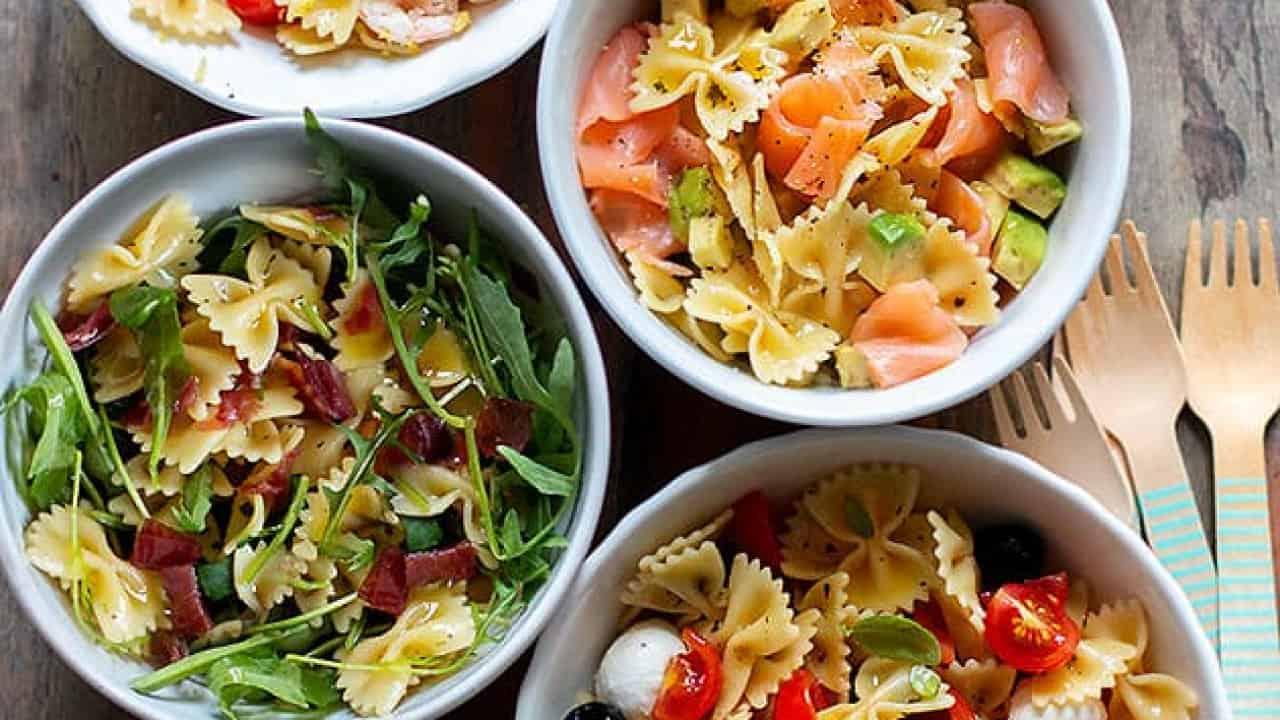 Piatti Freddi Veloci Da Asporto pasta fredda: 6 ricette veloci e tutti i segreti per paste fredde perfette!
