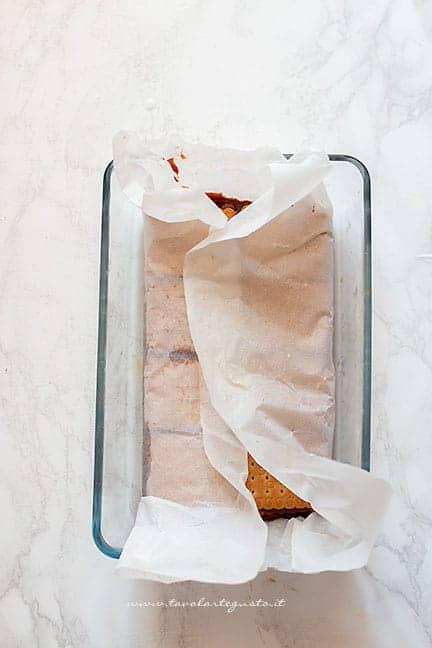 lascaire raffreddare in frigo -Ricetta Torta di biscotti