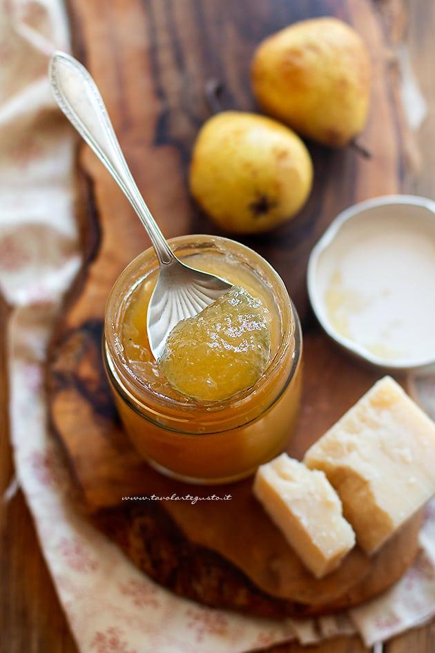 Marmellata di pere - Confettura di pere - Ricetta Marmellata di pere