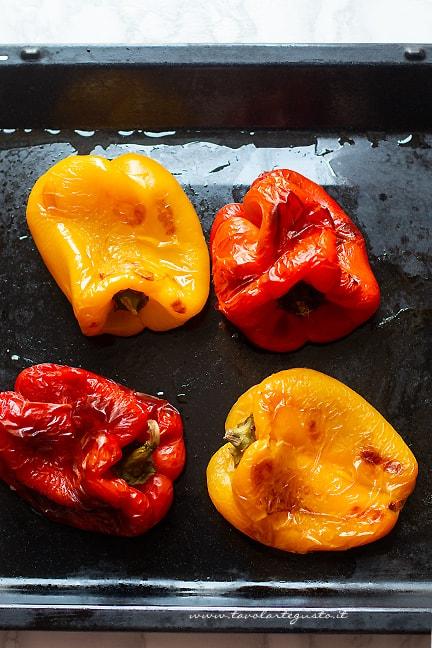 arrostire peperoni al forno