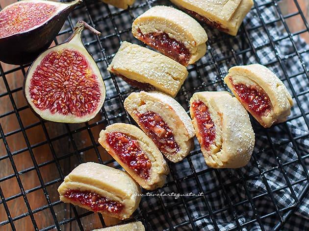biscotti ai fichi - Ricetta Biscotti ai fichi-