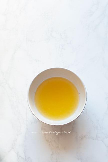 gelatina al limone - Ricetta Torta fredda al limone