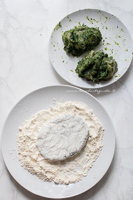 Impanare le spinacine