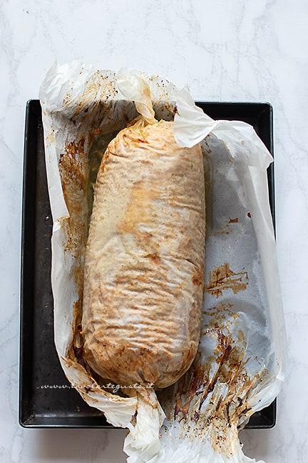 rosolare con grill - Ricetta polpettone