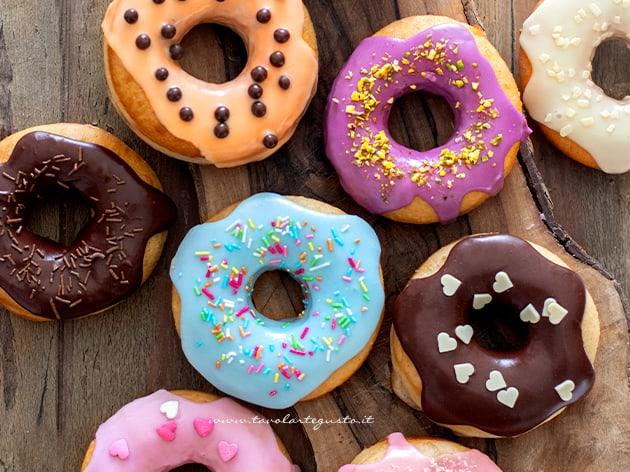 Donuts - Donut - Ricetta originale Donuts americani-