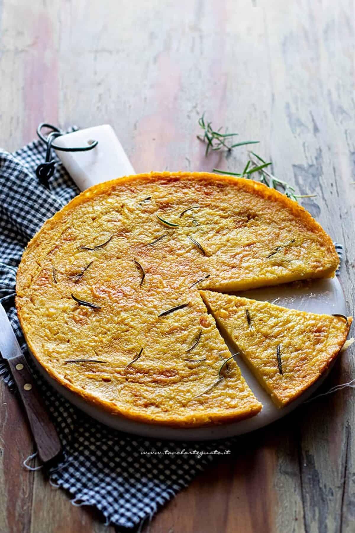 Ricetta Farinata Con Ceci In Scatola.Farinata Di Ceci La Ricetta Originale Ligure Da Fare In Casa Passo Passo