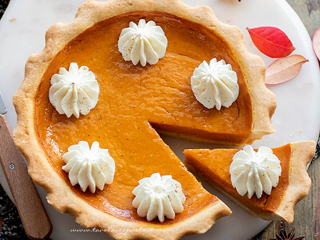 Pumpkin pie - Ricetta pumpkin pie-