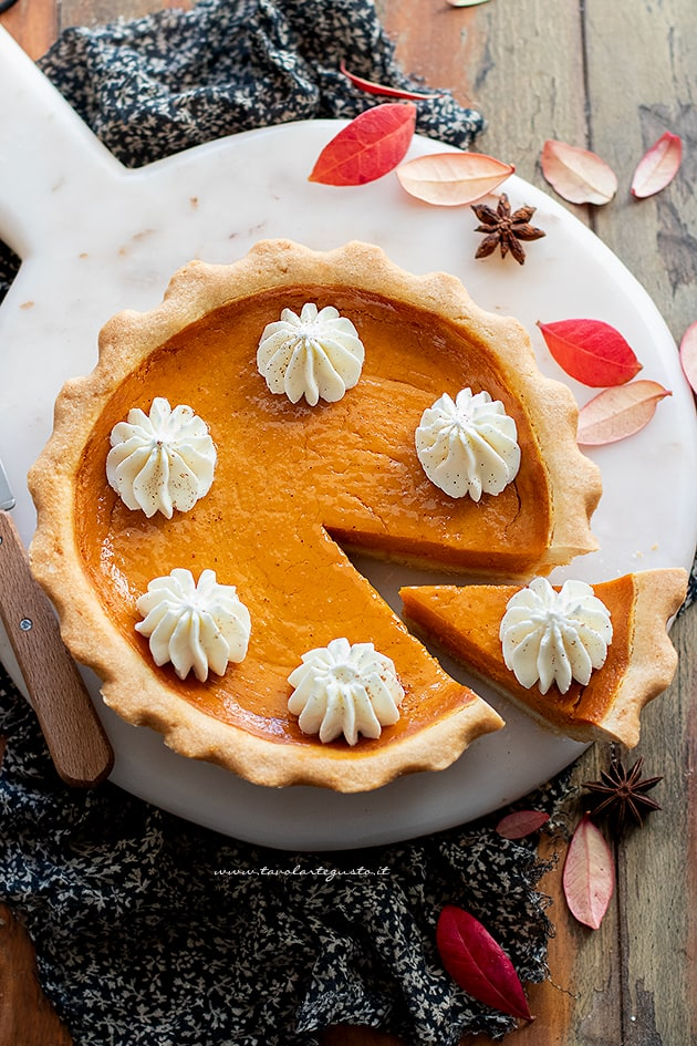 Pumpkin pie - Ricetta pumpkin pie