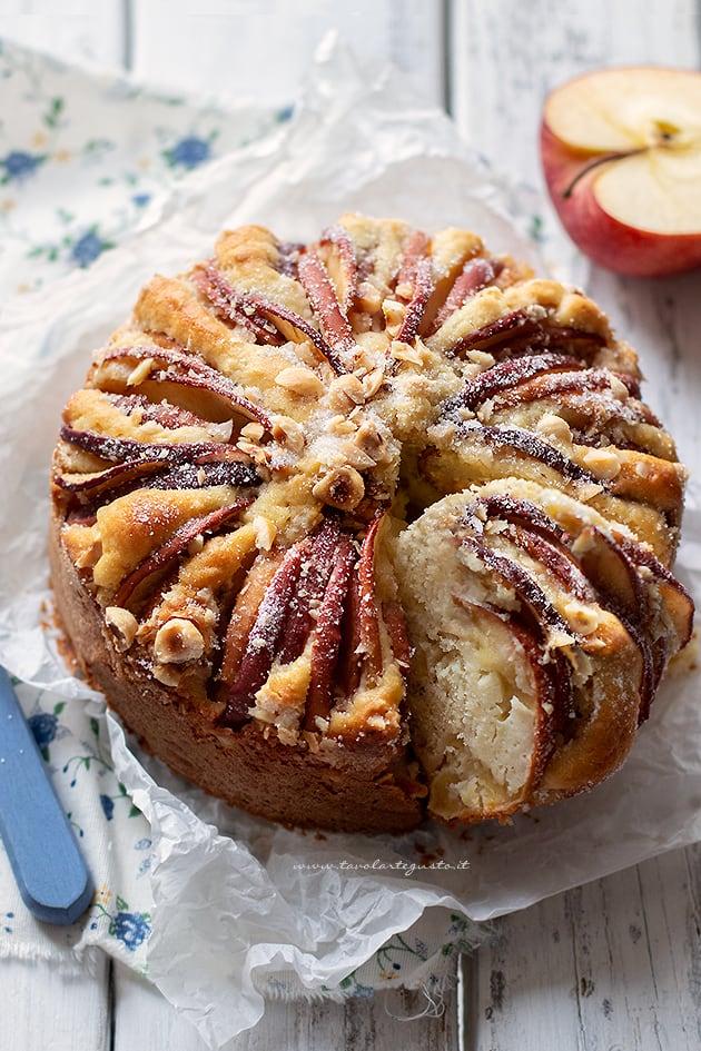 Torta di mele senza glutine - Ricetta Torta di mele senza glutine morbidissima