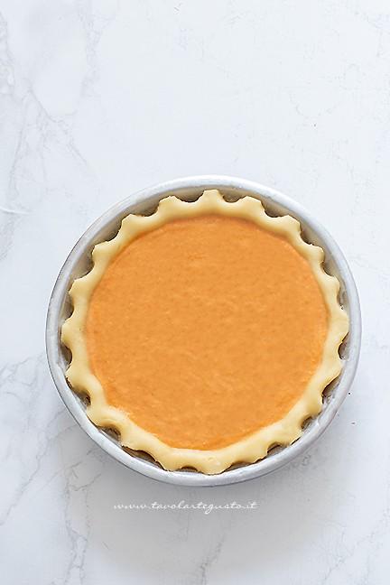 come fare la pumpkin pie