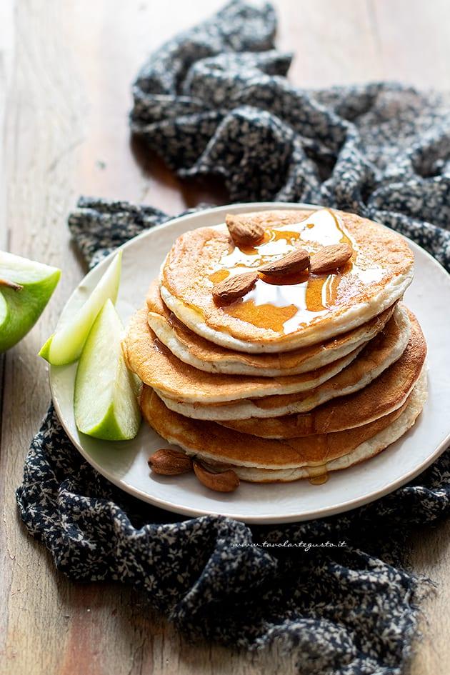 pancake proteici - ricetta proteici per una colazione proteica