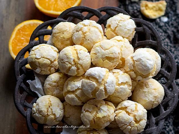 Biscotti all arancia - Ricetta Biscotti all'arancia