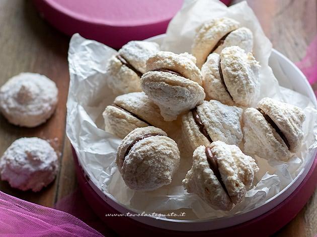 Biscotti cocco e nutella - Ricetta Biscotti cocco e nutella