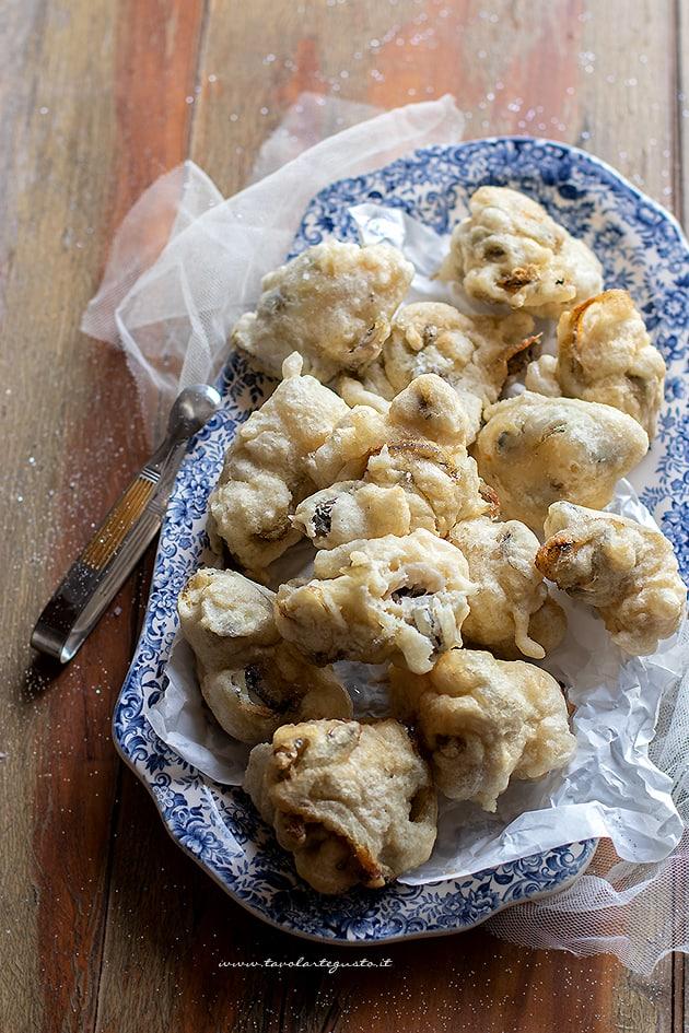 Frittelle di pesce - Ricetta frittelle di bianchetti - Frittelle di latterini-