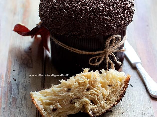 Ricetta Panettone.Panettone Al Cioccolato Ricetta Semplice E Golosa Soffice A Lungo
