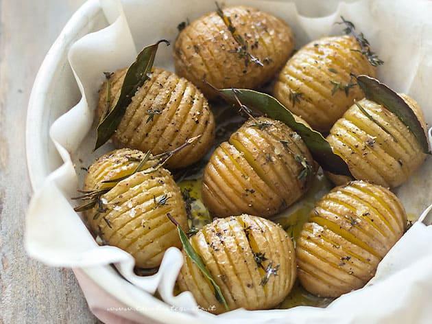 Patate Hasselback - Ricetta Patate Hasselback