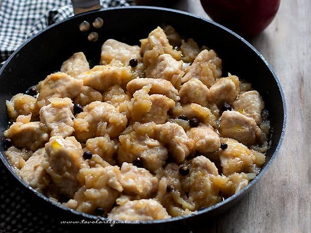 Pollo alle mele - Ricetta Pollo alle mele