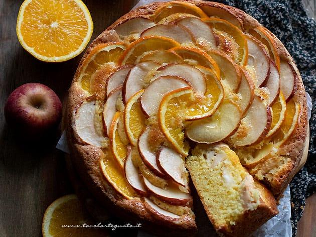 Torta mele e arance - Ricetta Torta mele e arance