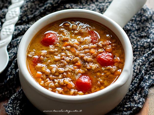 Zuppa di farro - Ricetta zuppa di farro