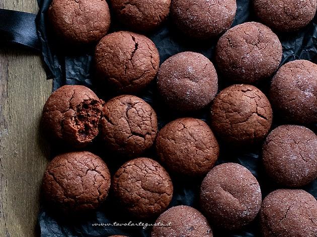 biscotti per la colazione al cioccolato