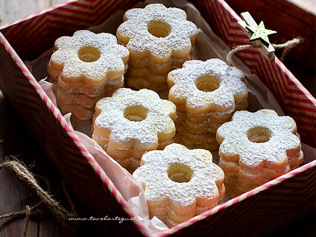 Canestrelli - Ricetta Biscotti Canestrelli