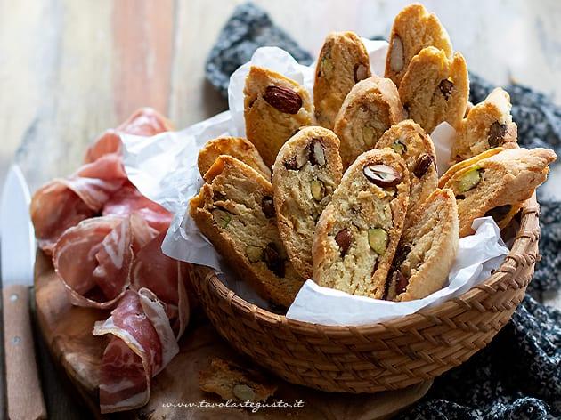 Cantucci salati - Ricetta Cantucci salati
