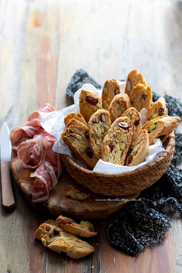 Cantucci salati - Ricetta cantucci salati-