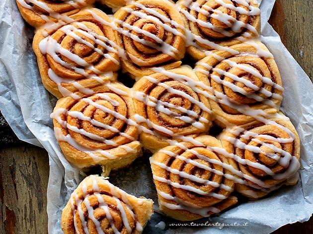 Cinnamon rolls - Ricetta Cinnamon rolls