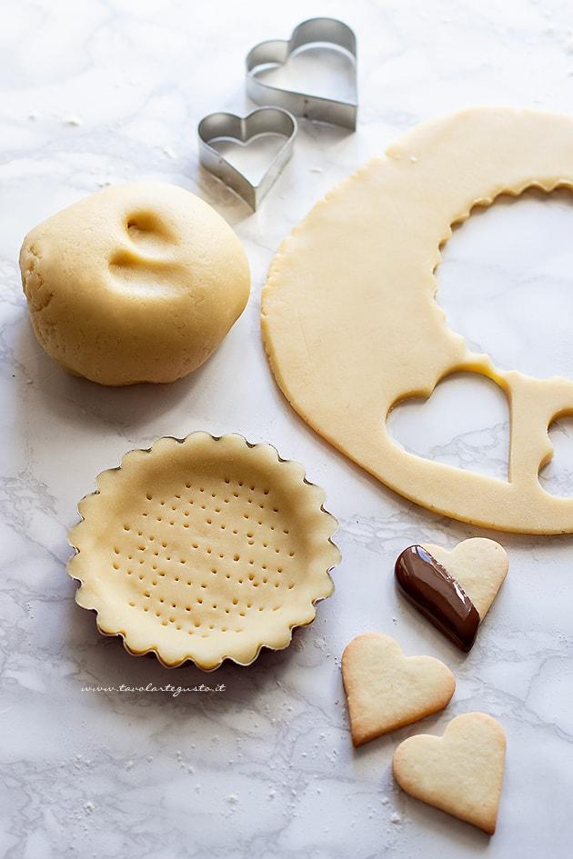 Pasta frolla senza glutine con farina di riso - Ricetta Pasta frolla senza glutine-