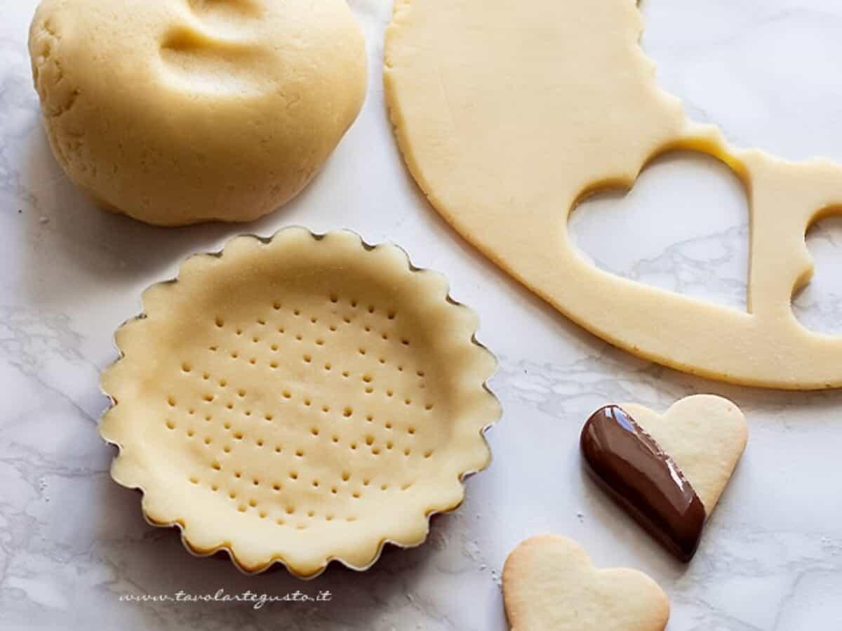 Ricetta Biscotti Al Burro Per Celiaci.Pasta Frolla Senza Glutine Per Crostate E Biscotti Con Farina Di Riso