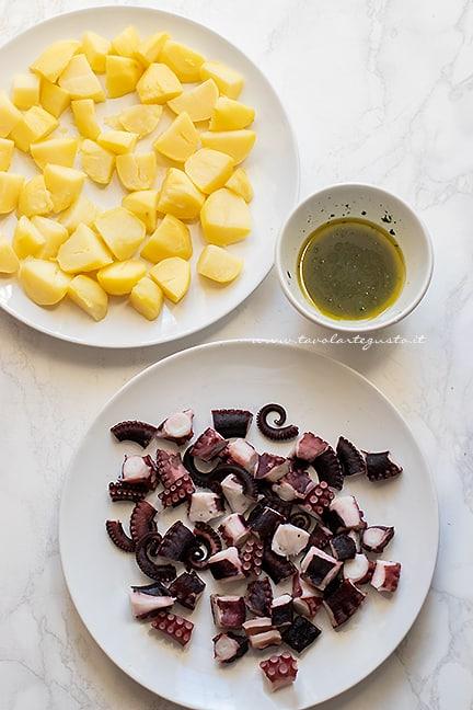 come fare il polpo con patate - Ricetta Polpo e patate