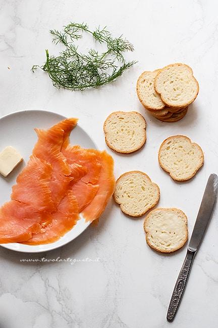 consigli e trucchi come fare le tartine al salmone perfette