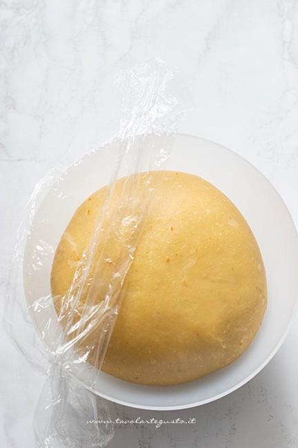 maturazione in frigo - Ricetta Pandoro