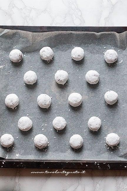superficie screpolata biscotti al cioccolato
