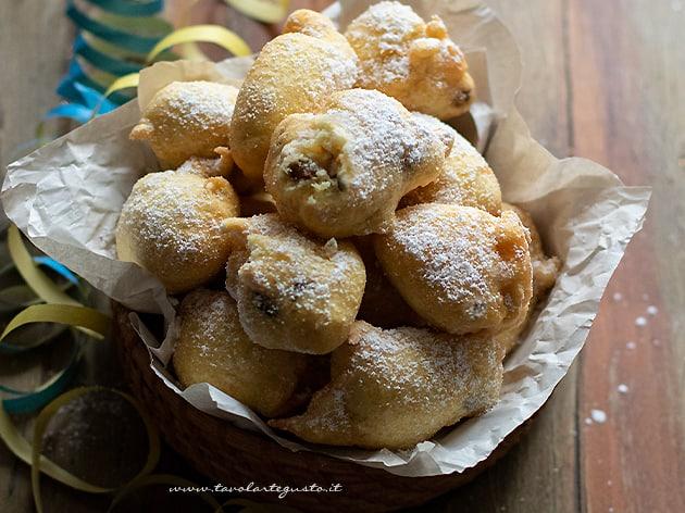 Frittelle di Carnevale - Ricetta Frittelle