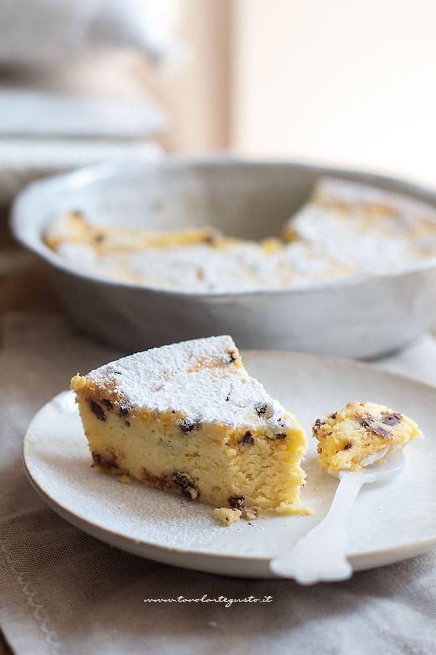 Ricetta Torta e cioccolato cremosa-