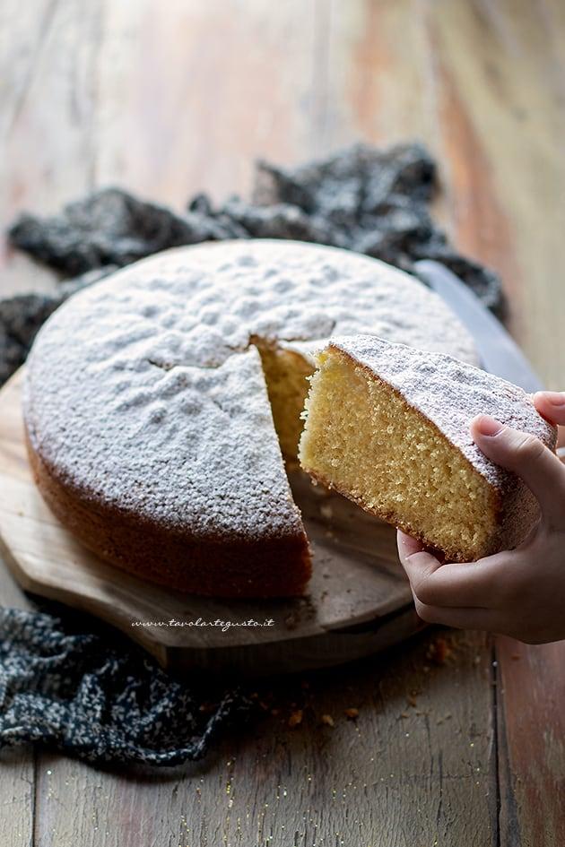 Torta margherita soffice e semplice - Ricetta Torta margherita-