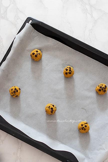 come cuocere i cookies americani