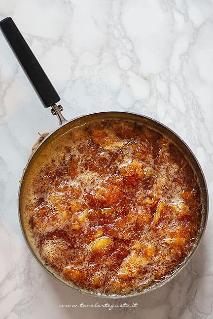 cuocere la marmellata di arance - Ricetta Marmellata di arance