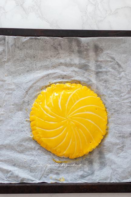 cuocere la torte dei re - Ricetta Galette des Rois