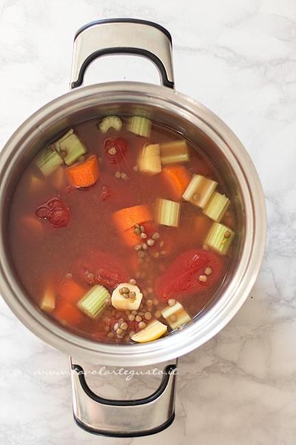cuocere le lenticchie -Ricetta Polpette di lenticchie