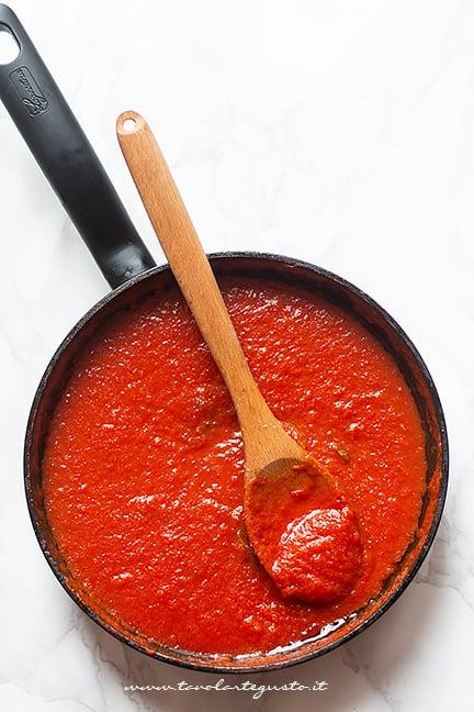 sugo di pomodoro - Ricetta Riso al forno