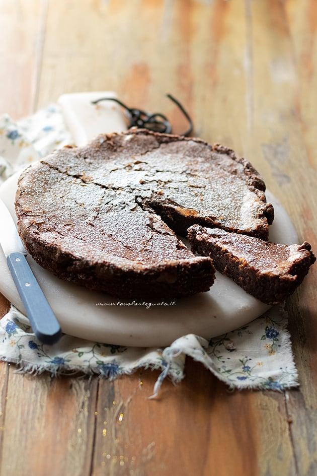 Ricetta Torta mandorle e cioccolato-