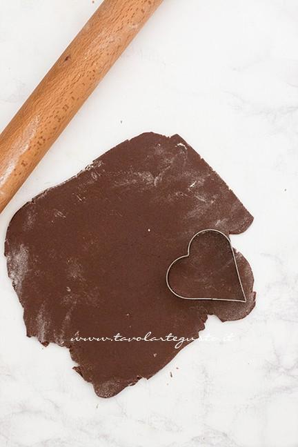 formare i biscotti - Ricetta Biscotti di Carnevale