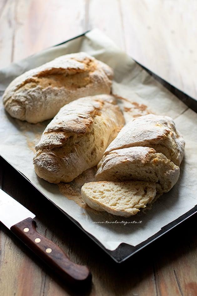 Pane senza lievito - Ricetta Pane senza lievito-