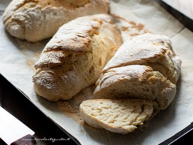 Pane senza lievito - Ricetta Pane senza lievito