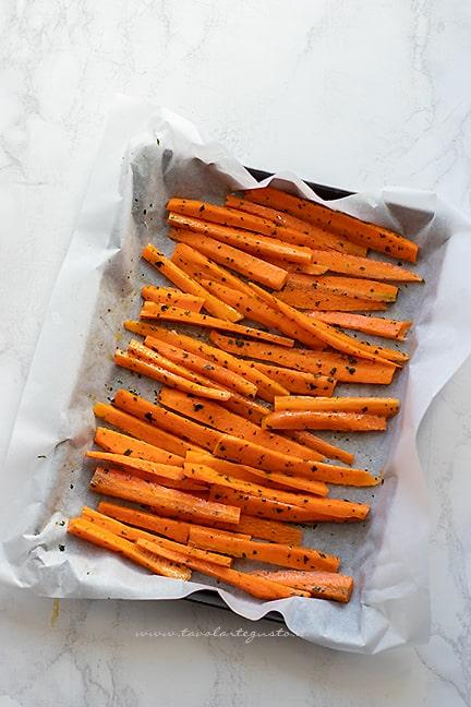 come cuocere le carote al forno