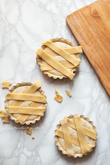 Decorare con le strisce - Pastierine napoletane