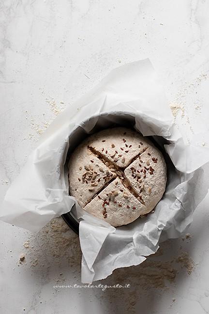 Fare un taglio a croce - Soda Bread